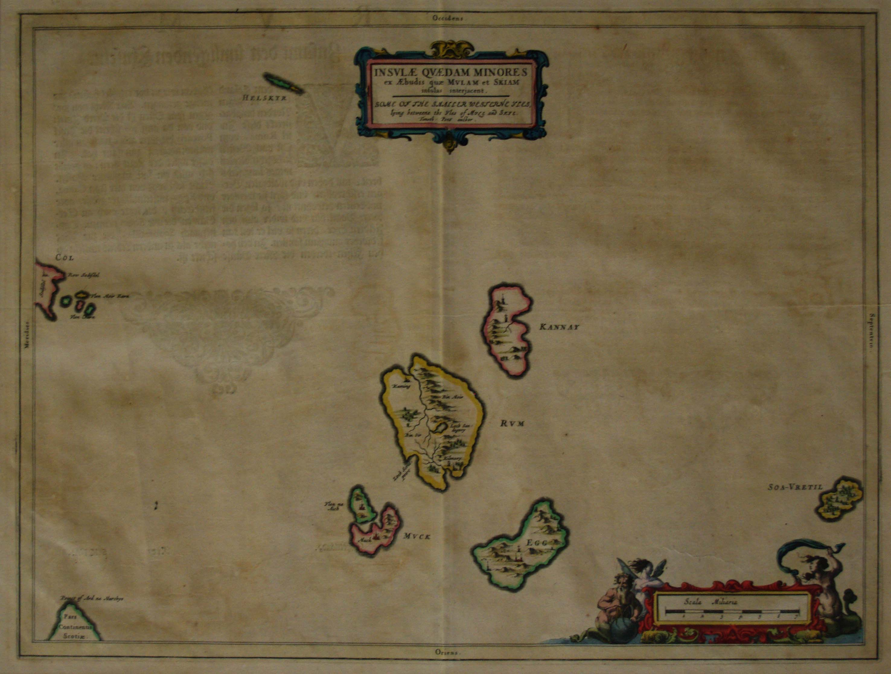 Blaeu's Small Isles, click for full res image